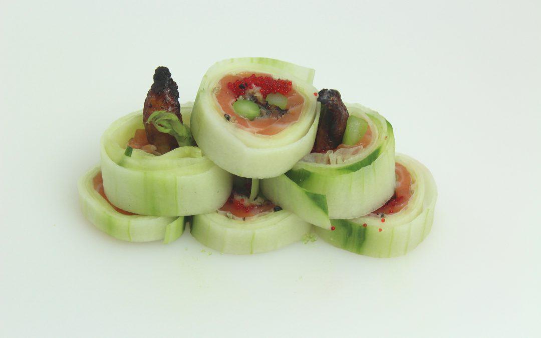 Eel Cucumber Roll