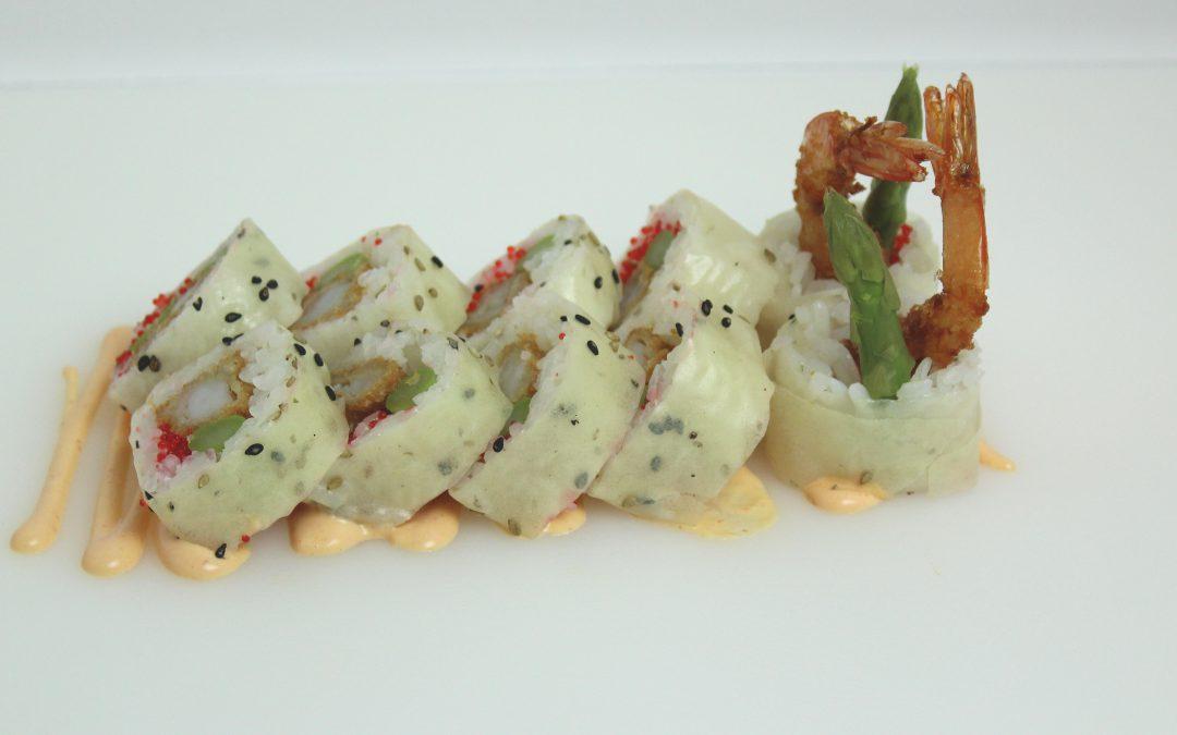 Sesame Shrimp Roll